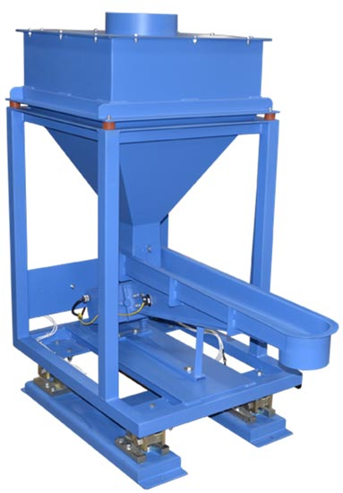 loss in weight hopper with electromagnetic vibrating feeder