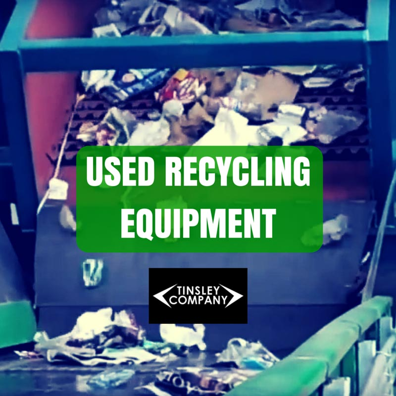used recycling equipment for sale
