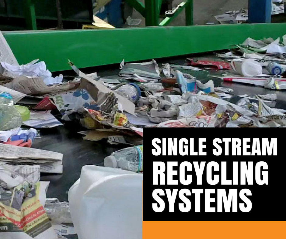Westfield single stream recycling