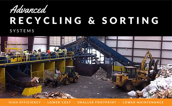 advanced recycling and sorting systems