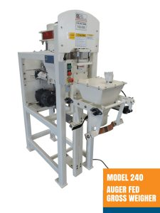 Model 240 Auger Fed Gross Weigher - Open Mouth Bagger