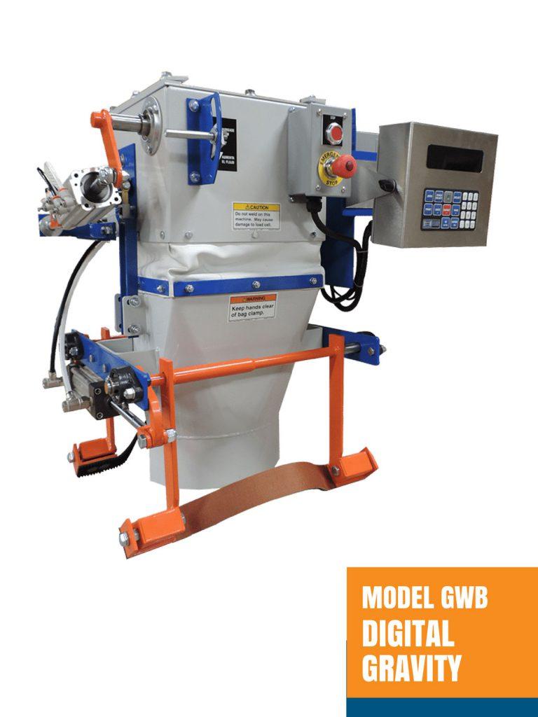 Model GWB Digital Gravity Open Mouth Bagger