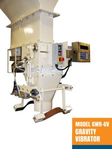 Model GWB-GV Gravity Vibrator Open Mouth Baggers