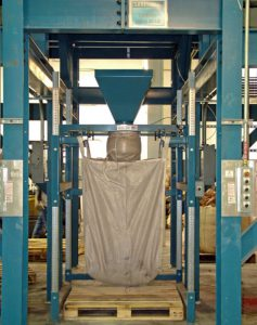 Big One Ton Bag Filling Equipment under Surge Hopper