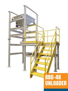 Bulk Bag Unloader and Bag Vibrating System
