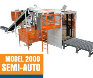 Model 2000 Semi-Auto Bag Palletizing Machine
