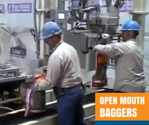 open mouth baggers