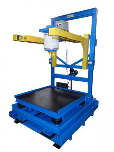 portable bulk bag filling equipment