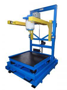 portable bulk bag filling equipment