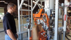 flour bagging machine