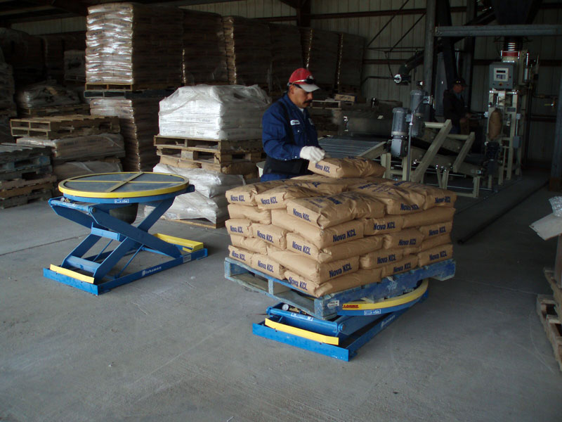 EZ Pallet Loading Station