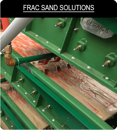 frac sand screening solutions