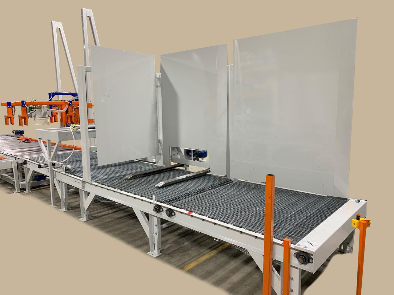 automatic pallet dispenser for bulk bags