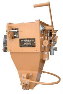 GB mechanical gravity style open mouth bagging machine for corn and grains