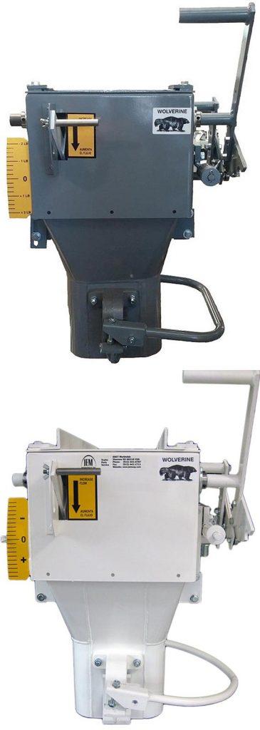 deer corn bagging machine - mechanical gross weight scale