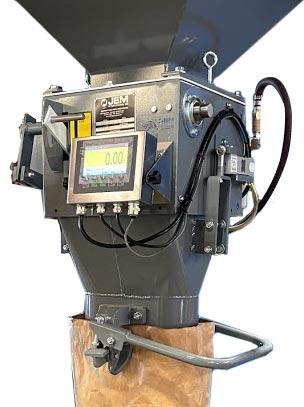 digital corn and grain bagging machine
