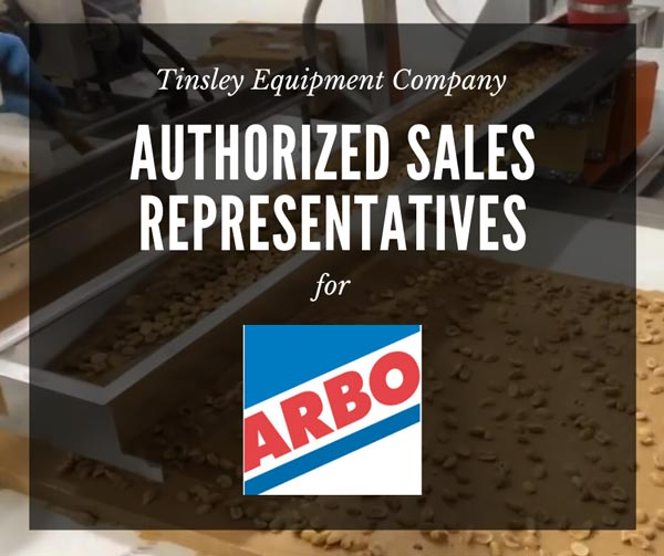 Tinsley Equipment Company Authorized Sales Representatives for Arbo Feeders