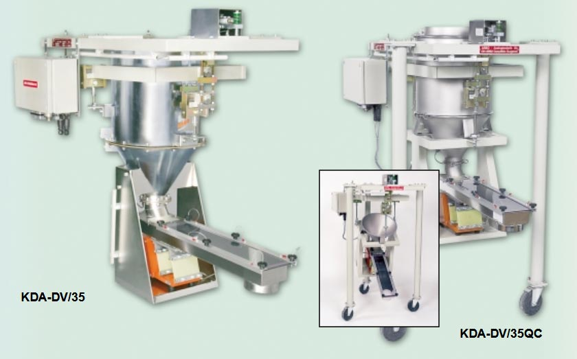 gravimetric vibratory feeders or loss in weight feeders