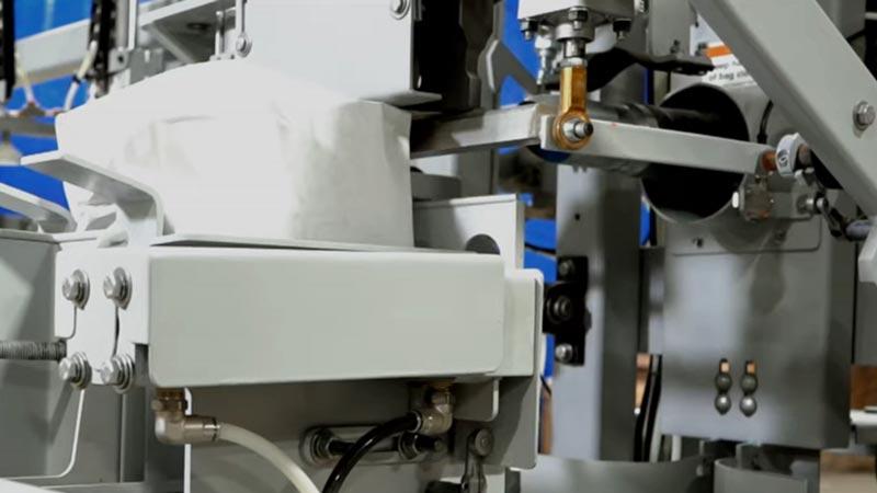 ultrasonic valve bag sealer