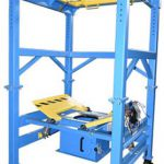 4000 pound big bag unloader with load cells