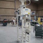 700 Series Air Pressure Flow Valve Bagging Machine with Plug Stack
