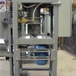 900 Series Horizontal Impeller Filler Valve Bagging Machine Side View