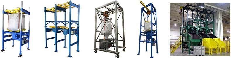 Big Bag Unloaders and Bulk Bag Dispensers