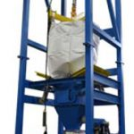 big bag unloader 4000 pound weight capacity