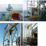 big bag unloader station for drilling mud