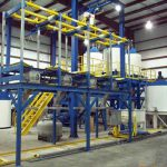 bulk bag dispenser stations batch blending system