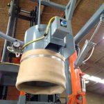 bulk bag filling dust tight