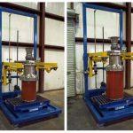 bulk bag filling machine with drum filling adapter