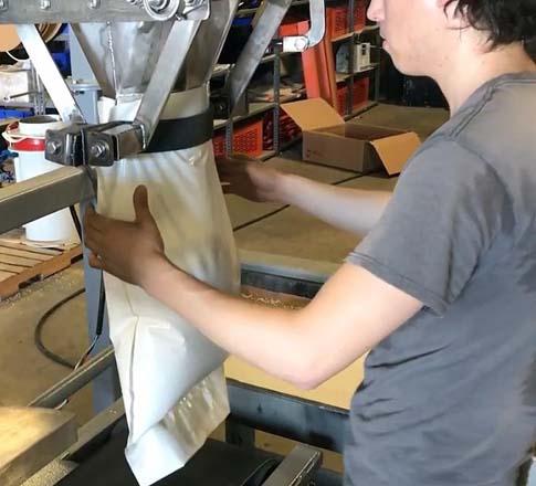 high speed barley bagging equipment