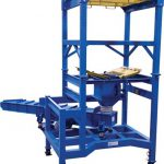 bulk bag dispenser to vibrating feeder below