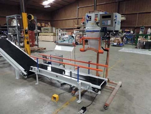 model gwb gravity fed gross weigh bagger machine