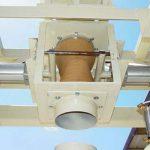pinch style fill head for bulk bag filling machine