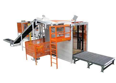 Semi-automatic Bag Palletizing Machines