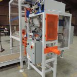 valve bagging machine inside automatic valve bag placer