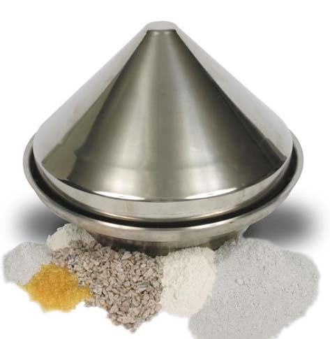 Cone Valve used inside IBC for Discharge of Blended Powders Granules