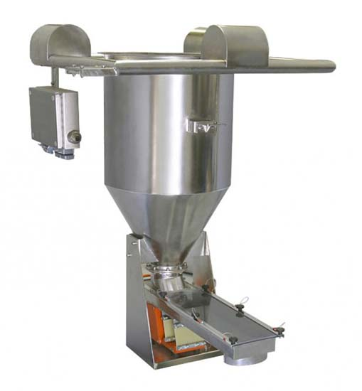 arbo kda dv100 gravimetric feeder with three load cell system fo