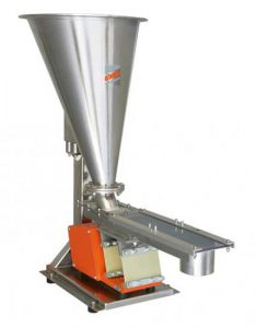 arbo vv80 volumetric feeder for food plastics chemicals ceramics