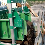 high capacity dewatering screen