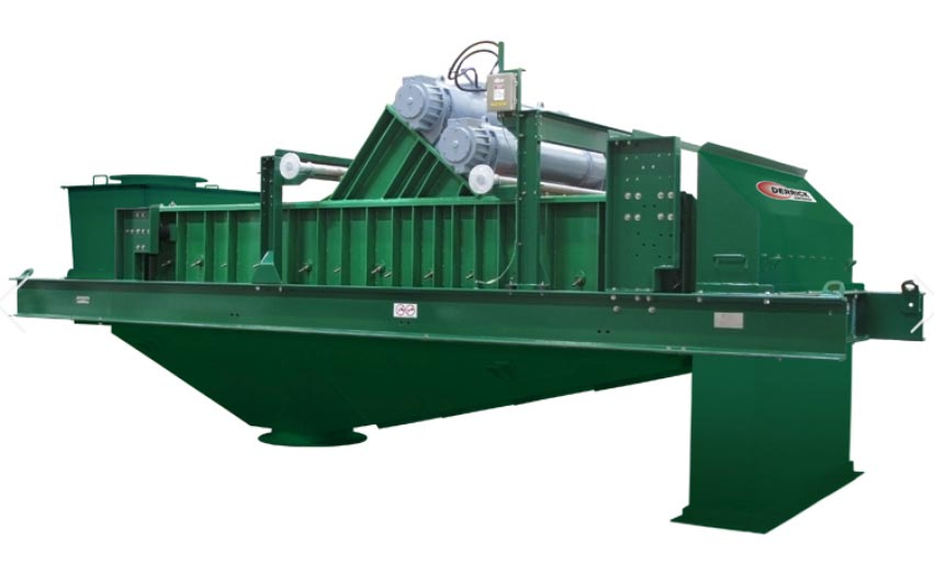linear motion screen for solids recovery and dewatering