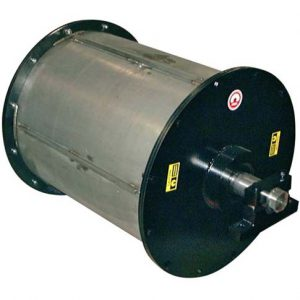 rotating drum magnet