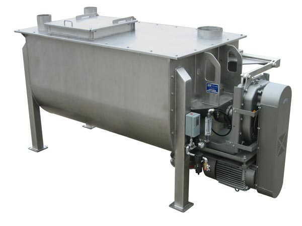 stainless steel industrial mixer food grade sanitary