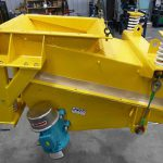 Enclosed Surge Hopper Feeder for Sand Processing and Damp Sand