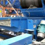 Large Vibratory Feeder to Meter Damp Sand and Aggregate