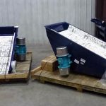 Large Vibratory Pan Feeders Ready For Shipment