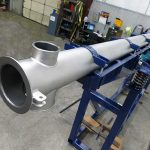 Large Vibrating Tube Feeder