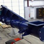 Large Vibrating Feeder Under Hopper